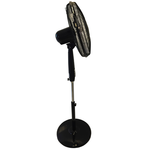 Pedestal Fan With Remote : Quot pedestal oscillating stand fan electric tower dynasun